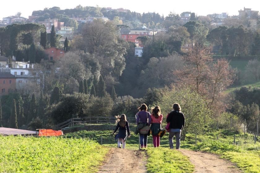 Hiking, Italy
