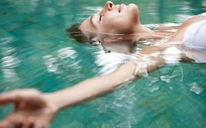 48-letting-go-of-past-mistakes, meditating in water